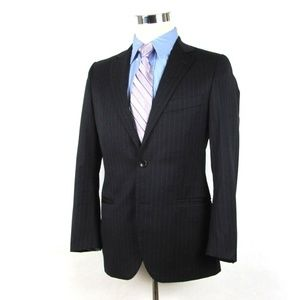 BROOKS BROTHERS Fitzgerald Navy Suit 36S/30W